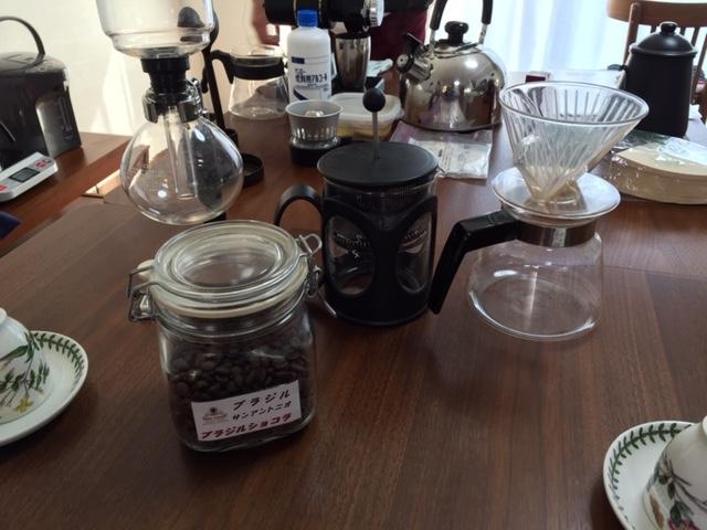 平成28年11月05日コーヒーの会1