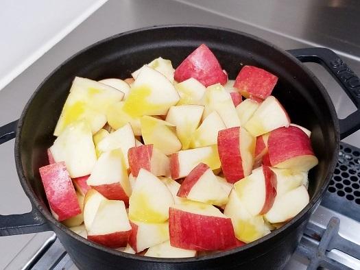 煮リンゴ①