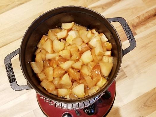 煮リンゴ②