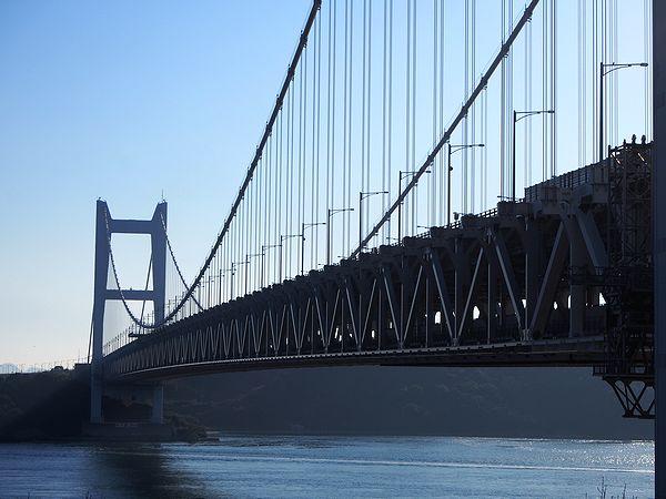根元からの瀬戸大橋