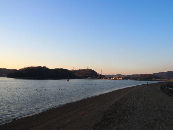 笠岡の海岸