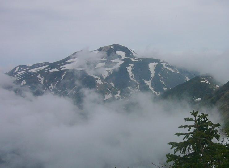 雲上の白山 H28.5.28