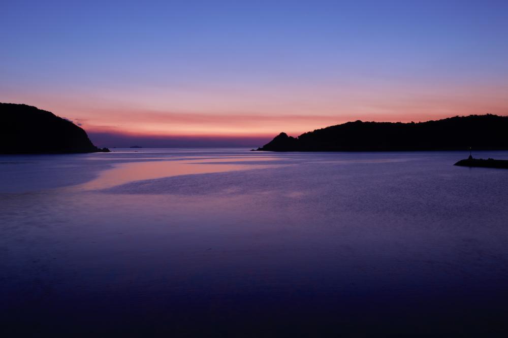 夕暮れ色の風景