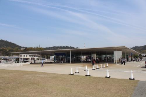 0066:海の駅なおしま 海側からの外観