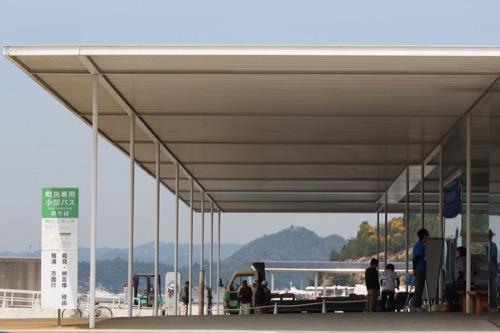 0066:海の駅なおしま 直島パヴィリオン側からの外観②
