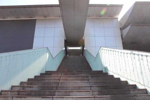 0080:和歌山県立近代美術館 突き出した庇②