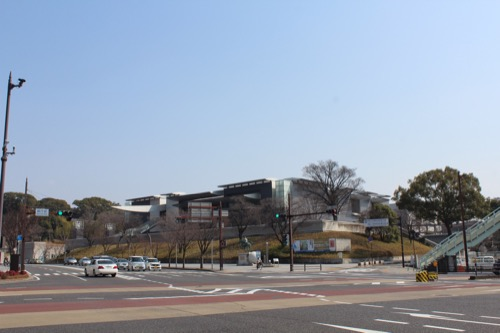 0080:和歌山県立近代美術館 北西交差点から