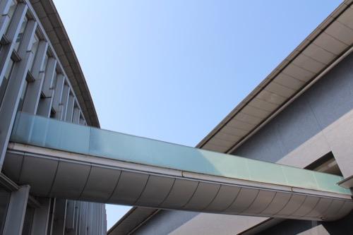 0081:和歌山県立博物館 美術館との連絡ブリッジ