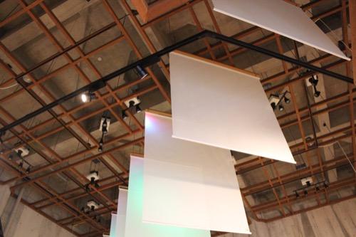 0085:瀬戸大橋記念館 独特な天井格子