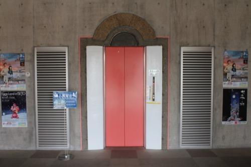 0085:瀬戸大橋記念館 展望台へのエレベーター