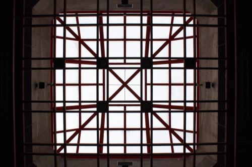 0085:瀬戸大橋記念館 エントランス上部トップライト