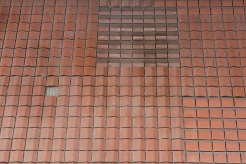 0086:津山文化センター 大ホールまわりの壁面