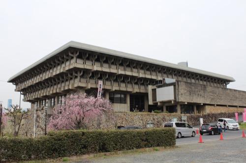 0086:津山文化センター 外観全景