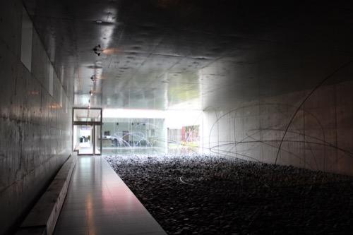 0087:奈義町現代美術館 展示室「大地」