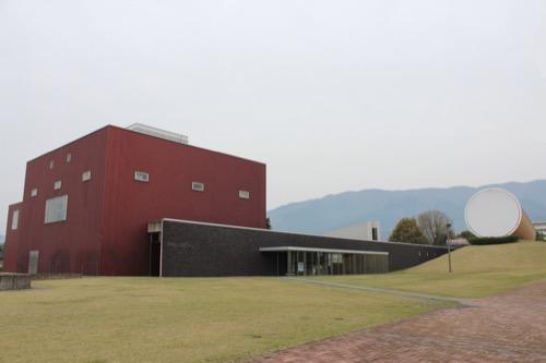 0087:奈義町現代美術館 全体外観