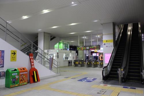0088:JR高知駅舎 コンコース①