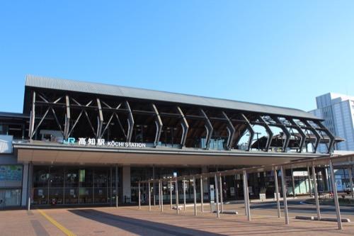 0088:JR高知駅舎 南側外観