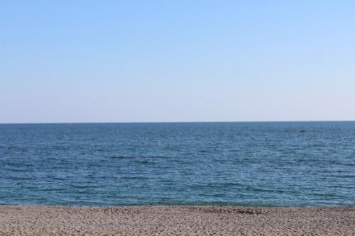 0090:高知県立坂本龍馬記念館 桂浜からの水平線