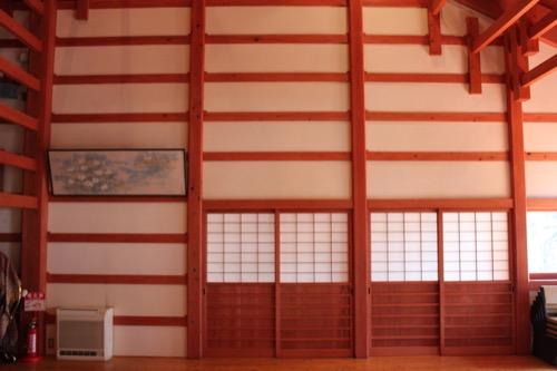 0091:稱名寺本堂 壁面
