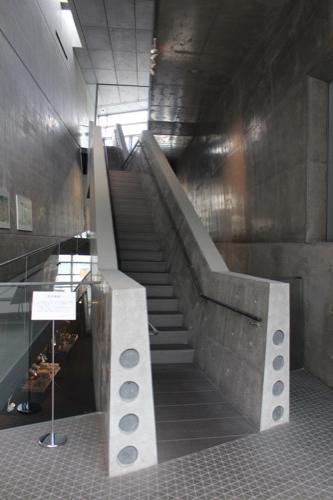 0092:坂の上の雲ミュージアム 空中階段