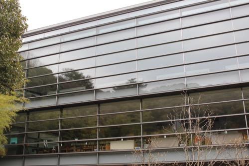0092:坂の上の雲ミュージアム ガラスファサード
