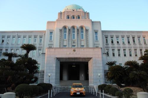 0094:愛媛県庁舎 正面をアップで
