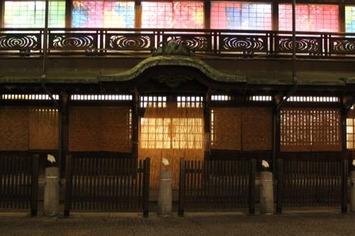 0095:道後温泉本館 以前の玄関跡