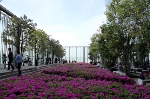 0100:あべのハルカス 16階庭園①
