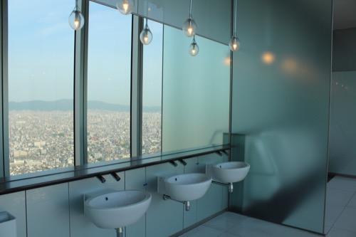 0100:あべのハルカス 展望台トイレ①