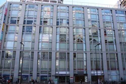 0101:アベノセンタービル ファサード全景