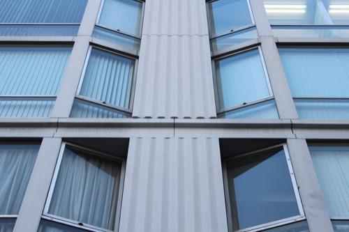 0101:アベノセンタービル ファサードのディティール