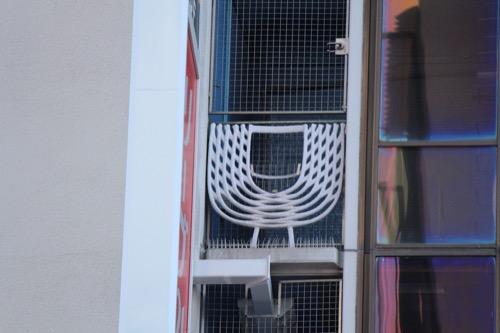 0102:きんえいアポロビル 端部バルコニーのデザイン