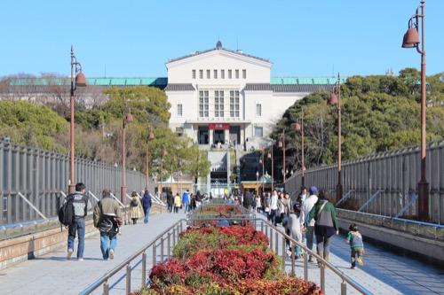0104:大阪市立美術館 動物園側から
