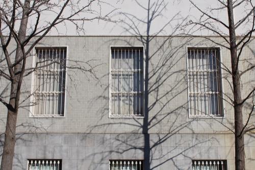 0104:大阪市立美術館 本館の外壁仕上げ