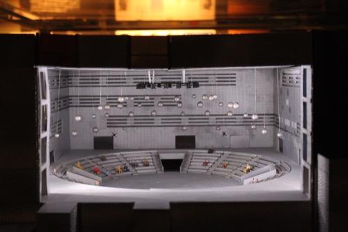 0107:EXPO'70パビリオン シアターホールの模型
