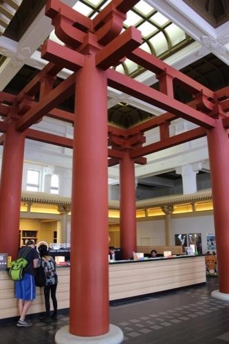 0109:奈良市総合観光案内所 内観①