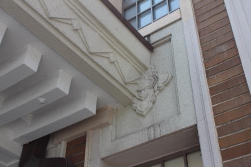 0109:奈良市総合観光案内所 玄関部分のデザイン③