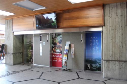 0110:奈良県庁舎 エレベーターホール