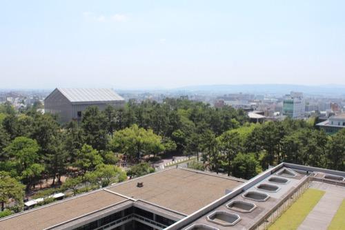 0110:奈良県庁舎 展望スペースからの眺め③