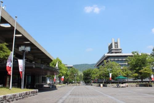 0111:奈良県文化会館 正面外観④