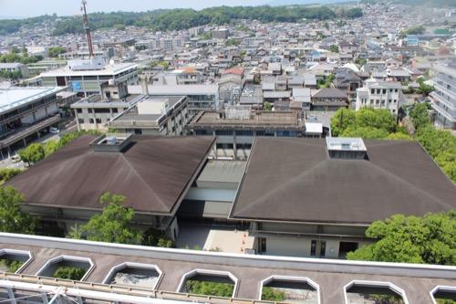 0112:奈良県立美術館 県庁舎屋上からの眺め
