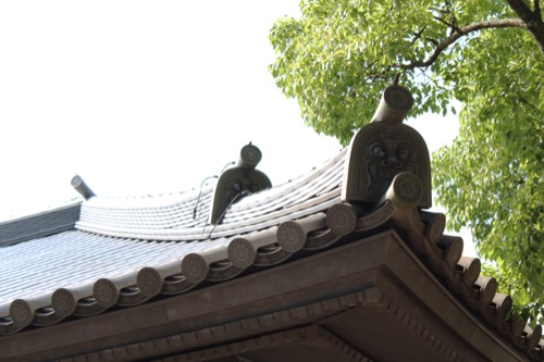 0114:東大寺総合文化センター 瓦部分③