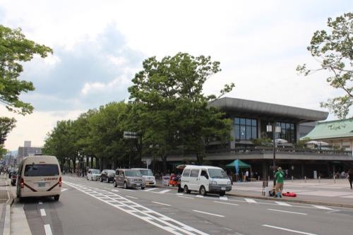 0116:ロームシアター京都 平安神宮側から①