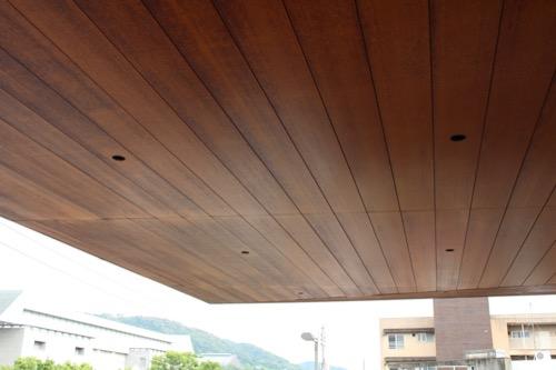 0117:細見美術館 木張りの茶室天井
