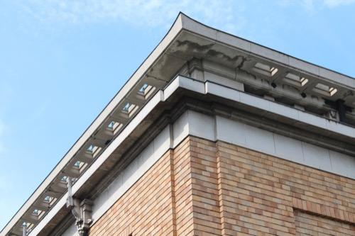 0119:京都市美術館 庇の突端部分