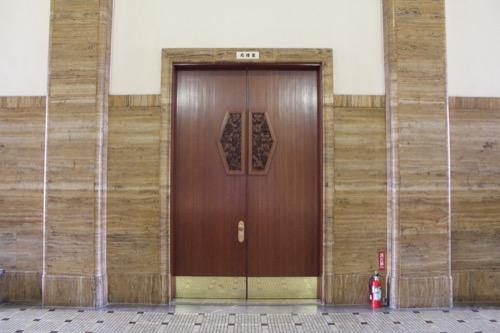 0119:京都市美術館 2階応接室の扉