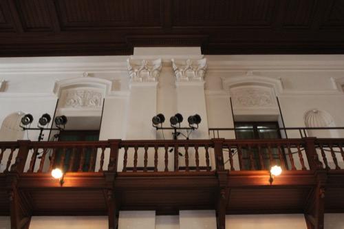 0120:京都文化博物館別館 別館ホール壁面意匠