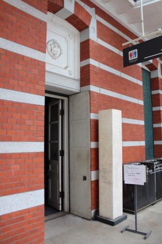 0120:京都文化博物館別館 西側廊下入口