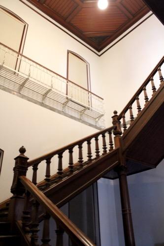 0120:京都文化博物館別館 螺旋階段①