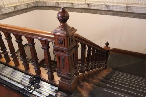 0120:京都文化博物館別館 螺旋階段④